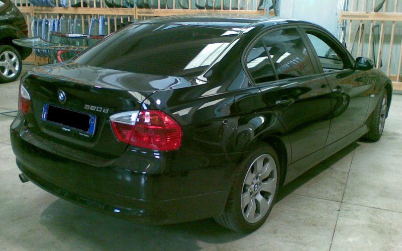 Oscuramento vetri, vetri oscurati, gradazione media BMW